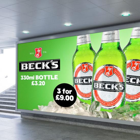 Beck's Advert 21