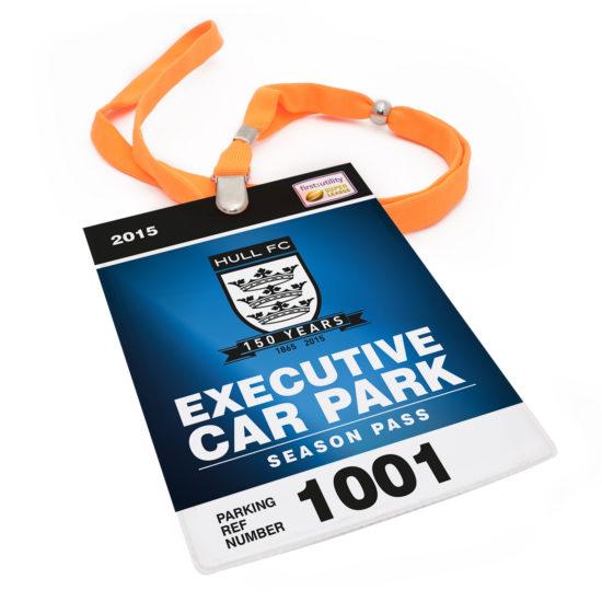 Hull FC Parking Pass 18