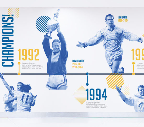 Leeds United Wall Graphic 22
