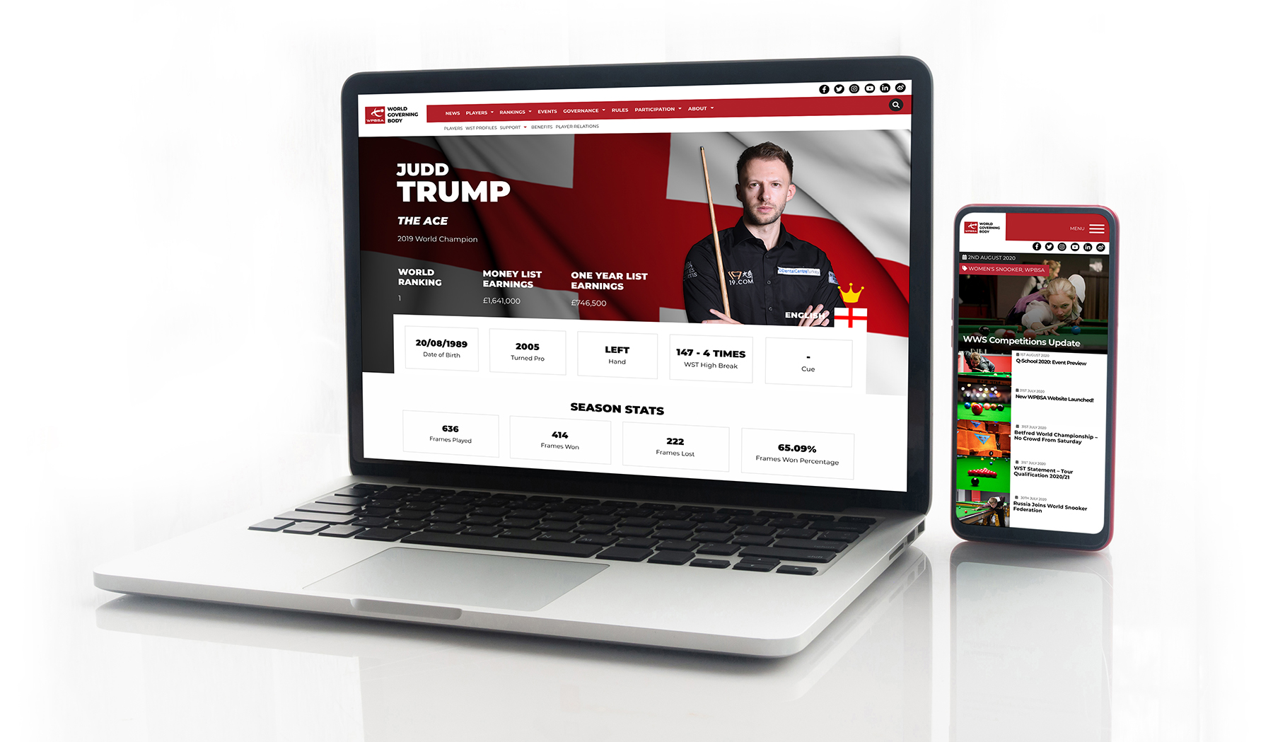 WPBSA website